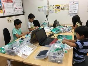 ロボットプログラミング授業